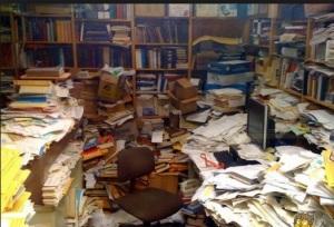 Disordine scrivania